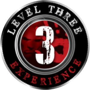 level three badge